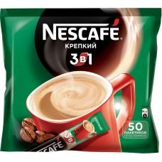 Кофейный напиток растворимый Nescafe 3 в 1 Крепкий, 50*16 г