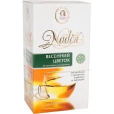 Чай зеленый в пакетиках для чашки Nadin Весенний цветок, 25*2 г