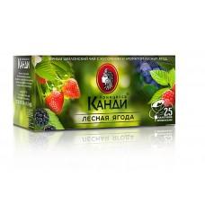 Чай черный в пакетиках для чашки Принцесса Канди Лесная ягода, 25*1,5 г