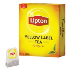Чай черный в пакетиках для чашки Lipton, 100*2 г