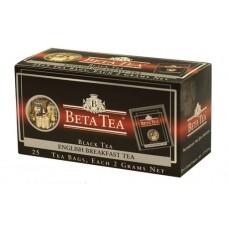 Чай черный в пакетиках для чашки Beta Tea Английский завтрак, 25*2 г