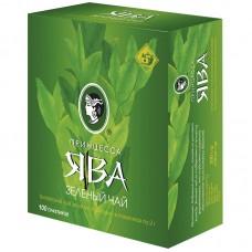 Чай зеленый в пакетиках для чашки Принцесса Ява Традиционный, 100*2 г