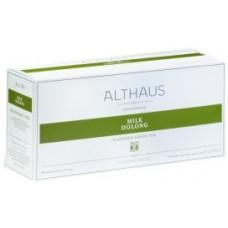 Чай зеленый в пакетиках для чайника Althaus Milk Oolong (Альтхаус Mолочный Улун), 20*4 г