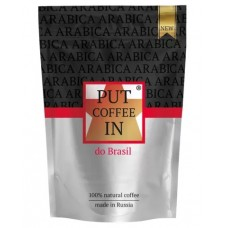 Кофе растворимый PUT coffee IN do Brasil, 75 г