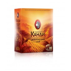Чай черный в пакетиках для чашки Принцесса Канди Цейлон, 100*2 г
