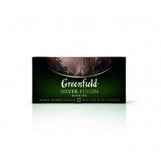 Чай черный в пакетиках для чашки Greenfield Silver Fujian (Гринфилд Силвэ Фуцзянь), 25*2 г