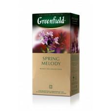 Чай черный в пакетиках для чашки Greenfield Spring Melody (Гринфилд Спринг Мелоди), 25*1,5 г