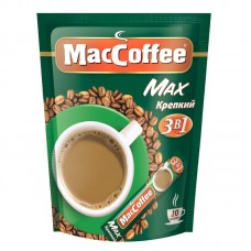 Кофейный напиток растворимый MacCoffee Max крепкий 3 в 1, 20*16 г