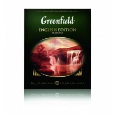 Чай черный в пакетиках для чашки Greenfield English Edition (Гринфилд Инглиш Эдишн), 100*2 г