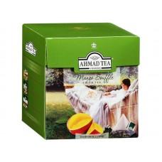 Чай зеленый в пирамидках Ахмад Манговое суфле, 20*1,8 г