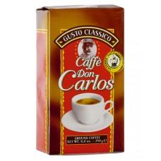 Кофе молотый Carraro Don Carlos (Карраро Дон Карлос), 250 г