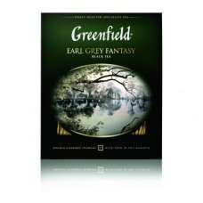 Чай черный в пакетиках для чашки Greenfield Earl Grey Fantasy (Гринфилд Эрл Грей Фэнтази), 100*2 г