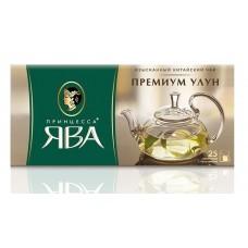 Чай зеленый в пакетиках для чашки Принцесса Ява Премиум улун, 25*2 г