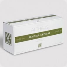 Чай зеленый в пакетиках для чайников Althaus Sencha Senpai (Альтхаус Сенча Сенпай), 20*4 г