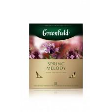 Чай черный в пакетиках для чашки Greenfield Spring Melody (Гринфилд Спринг Мелоди) 100*1,5 г
