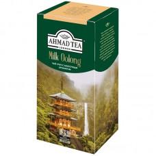 Чай зеленый в пакетиках для чашки Ахмад Milky Oolong, 25*1,8 г