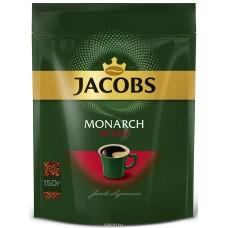 Кофе растворимый Jacobs Monarch Intense, м/у, 150 г
