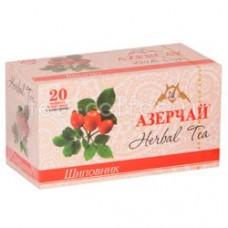 Чай травяной в пакетиках для чашки Азерчай Шиповник, 20*2 г