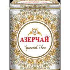 Чай зеленый листовой Азерчай Special с белым узором, ж/б, 200 г