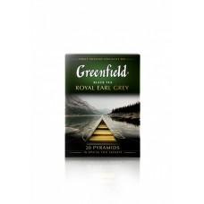 Чай черный в пирамидках Greenfield Royal Earl Grey (Гринфилд Роял Эрл Грей), 20*2 г