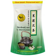 Чай зеленый листовой Верблюд Жасмин, м/у, 100 г