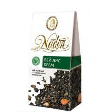Чай зеленый листовой Nadin Бейлис крем, 50 г