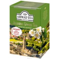 Чай зеленый листовой Ахмад с жасмином, 100 г