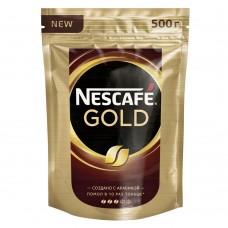 Кофе растворимый Nescafe Gold, м/у, 500 г