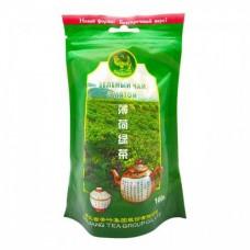 Чай зеленый листовой Верблюд Мята, м/у, 100 г