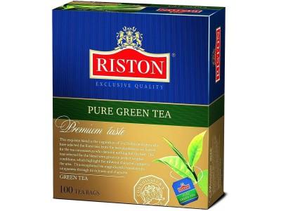 Чай зеленый в пакетиках для чашки Riston, 100*2 г