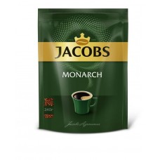 Кофе растворимый Jacobs Monarch, м/у, 240 г