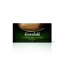 Чай черный в пакетиках для чашки Greenfield Classic Breakfast (Гринфилд Классик Брекфаст), 25*2 г