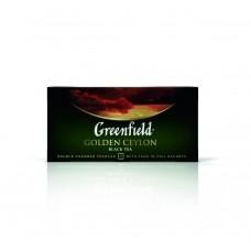 Чай черный в пакетиках для чашки Greenfield Golden Ceylon (Гринфилд Голден Цейлон), 25*2 г