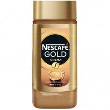 Кофе растворимый Nescafe Gold Crema, банка, 95 г