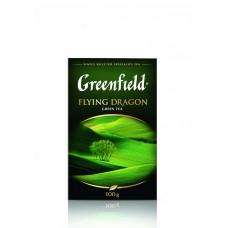 Чай зеленый листовой Greenfield Flying Dragon (Гринфилд Флаинг Драгон), 100 г