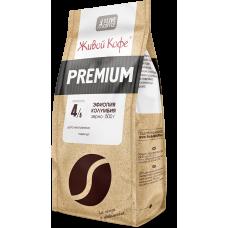 Кофе в зернах Живой Эспрессо Premium, 500 г