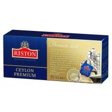 Чай черный в пакетиках для чашки Riston Премиум Цейлонский, 25*2 г