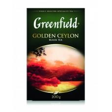 Чай черный листовой Greenfield Golden Ceylon (Гринфилд Голден Цейлон), 200 г