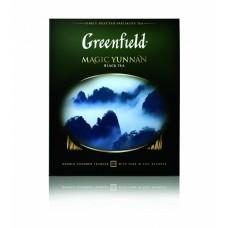 Чай черный в пакетиках для чашки Greenfield Magic Yunnan (Гринфилд Меджик Юньнань), 100*2 г