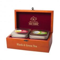 Набор зеленого и черного чая Ти Тэнг Роял Брю, 150 г