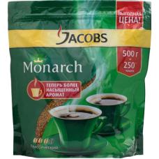 Кофе растворимый Jacobs Monarch, м/у, 500 г