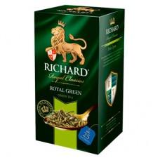 Чай зеленый в пакетиках для чашки Richard Royal Green, 25*2 г