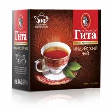 Чай черный в пакетиках для чашки Принцесса Гита Индия, б/я, 100*2 г