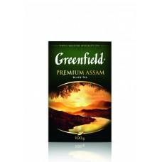 Чай черный листовой Greenfield Premium Assam (Гринфилд Премиум Ассам), 100 г