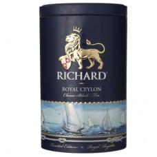 Чай черный листовой Richard Royal Ceylon, ж/б, 80 г