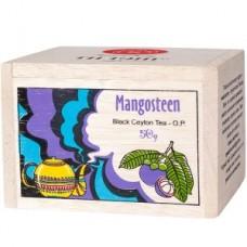 Чай весовой черный Ти Тэнг Mangosteen O.P. в деревянном сундучке, 50 г