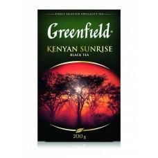 Чай черный листовой Greenfield Kenyan Sunrise (Гринфилд Кениан Санрайз), 200 г