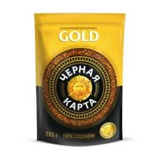 Кофе растворимый Черная карта Gold, м/у, 285 г