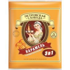 Кофейный напиток растворимый Петровская Слобода Карамель 3 в 1, 25*18 г
