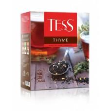 Чай черный в пакетиках для чашки Tess Thyme (Тесс Тайм), 100*1,5 г